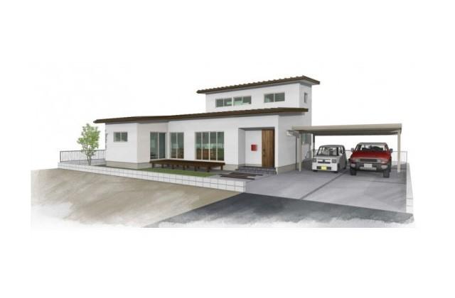 ユニバーサルホーム 霧島市国分野口町にて「カウンターキッチンに自然と家族が集う家」の完成見学会