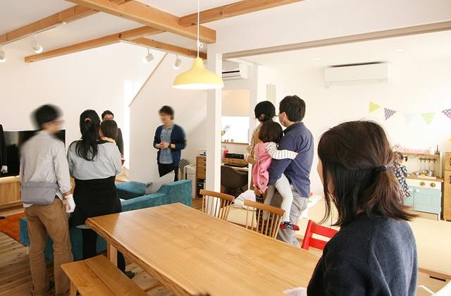 グッドホームかごしま 鹿児島市にて引き渡し後のオーナー邸を訪問する「ハロー!オーナーズ バスツアー」