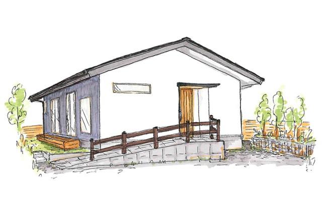 グッドホームかごしま 姶良市平松にて「勾配天井のある平屋の家」の完成見学会