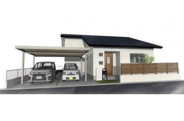 ユニバーサルホーム 鹿児島市五ケ別府町にて「開放感広がる高天井のリビングがある平屋」のオープンハウス