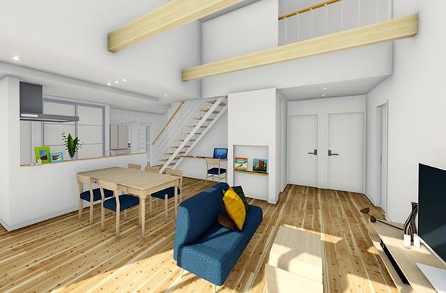 七呂建設 枕崎市大塚中町にて「5LDKにロフトをプラス のびのび子育てできる38坪の平屋」の完成見学会