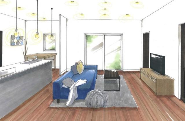 トータルハウジング 鹿児島市山田町にて「生活の流れに沿った収納で快適に暮らす家」の新築発表会