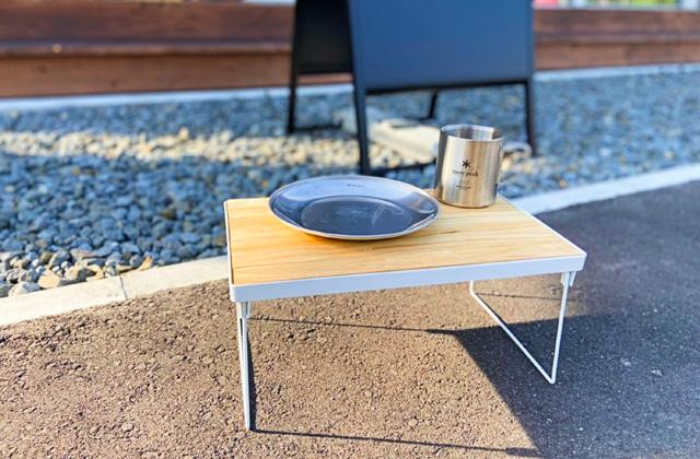 GOOOODhomeかごしま 鹿児島市小野のアウトドアショップHAPにて「ミニテーブル作り」【8/8】
