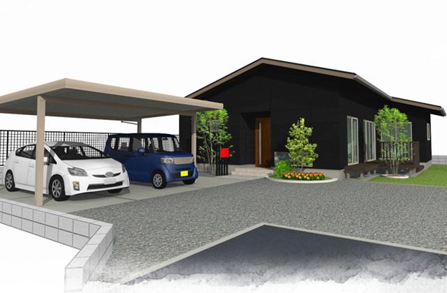 ユニバーサルホーム 姶良市平松にて平屋建て注文住宅の完成見学会