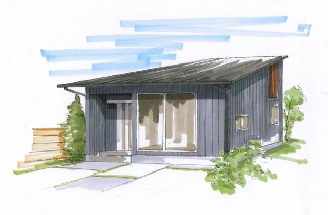 ベルハウジング 南さつま市加世田にて「大きな片流れ屋根の家」の完成見学会