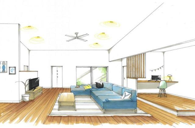 トータルハウジング 肝属郡東串良町にて「家族の好きな空間をちりばめた家」の新築発表会