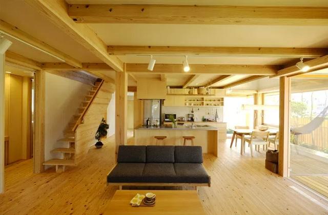ヤマサハウス 姶良市加治木町にて「広々LDK22畳と家事動線にこだわったロフト平屋」の完成見学会