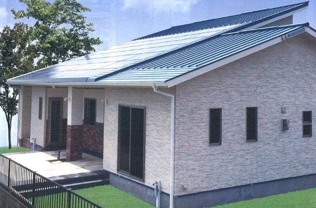 七呂建設 鹿屋市札元にて注文住宅「タイルデッキのある平屋」の完成見学会