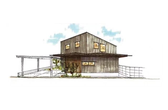 ベルハウジング 鹿児島市魚見町にて「桜島が美しく見える家」の完成見学会