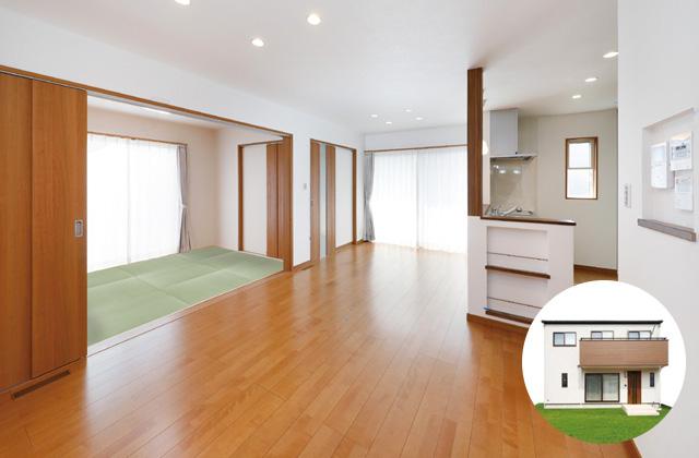 七呂建設 鹿児島市自由が丘にて「充実収納と回遊動線が快適な家」の完成見学会