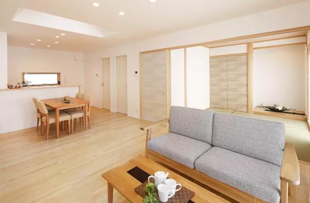 ヤマサハウス 鹿屋市旭原町にて「リビングと繋がりのあるロフトがある平屋」の完成見学会