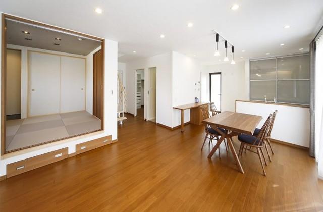 七呂建設 鹿児島市吉野町にて「南向きの明るいLDKと段上がり和室のある家」の完成見学会