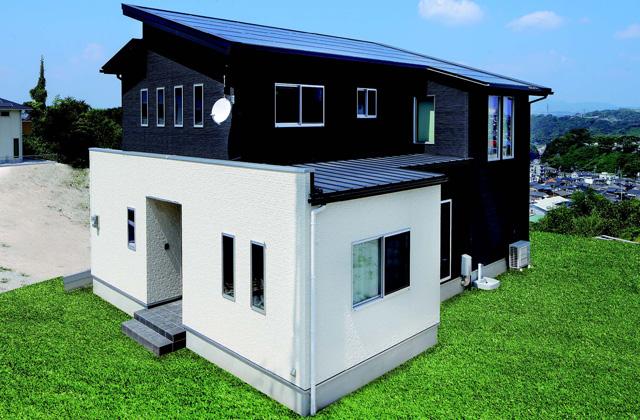七呂建設 鹿児島市田上台にて注文住宅「映画館と書斎のある5LDKの2階建て」の完成見学会