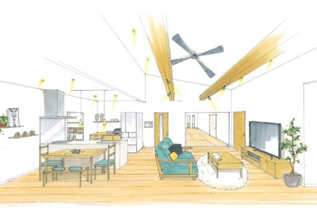 トータルハウジング 南さつま市坊津町にて「ゆっくり過ごせる広々リビングのある平屋」の新築発表会