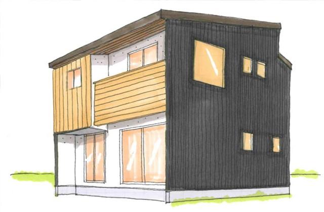 グッドホームかごしま 鹿児島市坂之上にてしっくいと無垢の家「ウッドライフハウス」がオープン