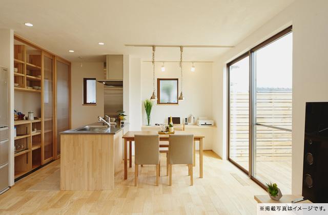 グッドホームかごしま 鹿児島市吉野町にて「漆喰と無垢の家」の完成見学会