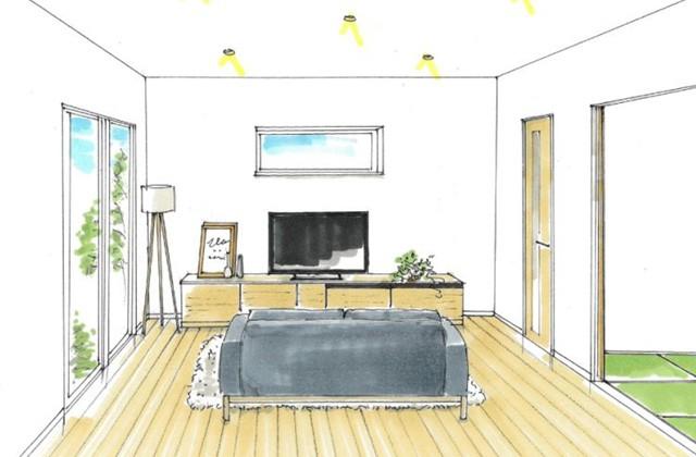 トータルハウジング 薩摩川内市天辰町にて「驚きの収納率18%超の平屋」の新築発表会