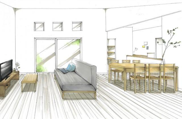 トータルハウジング 東串良町にて「家族の『らしい』を集めたハイドアの平屋」の新築発表会