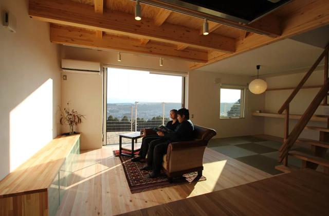 ベルハウジング 鹿児島市紫原にて「見晴らしのよい眺望のお家」のお住まい見学会