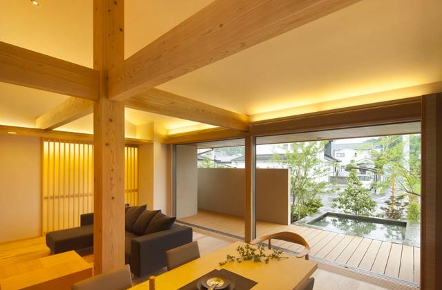 ヤマサハウス 築4年のGOOD DESIGN2013 受賞住宅の見学会 薩摩川内市