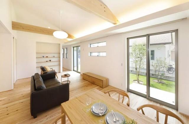 ヤマサハウス 薩摩川内市中福良町にて「収納が充実した平屋の家」の完成見学会