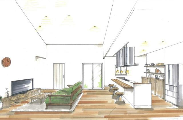 トータルハウジング 阿久根市赤瀬川にて「キッチンを中心としたつながりのある平屋の家」の新築発表会