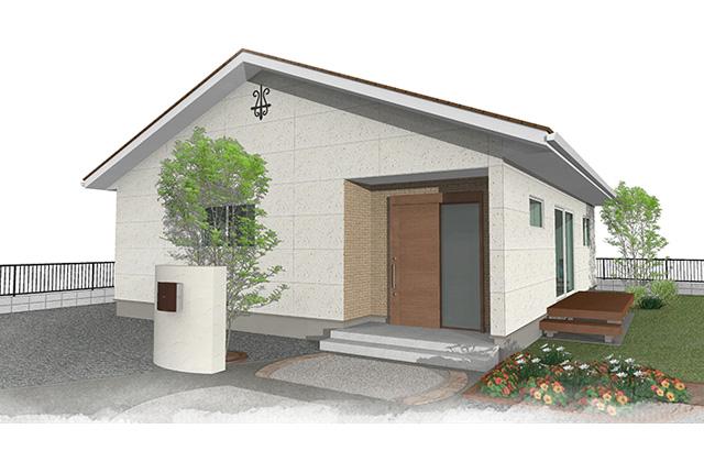 ユニバーサルホーム ユニバーサルホームの平屋建て注文住宅の完成見学会
