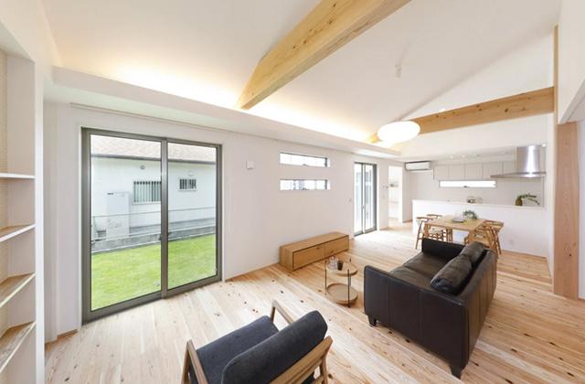ヤマサハウス 鹿児島市桜ヶ丘にて「大きな吹抜けのある平屋の家」の完成見学会