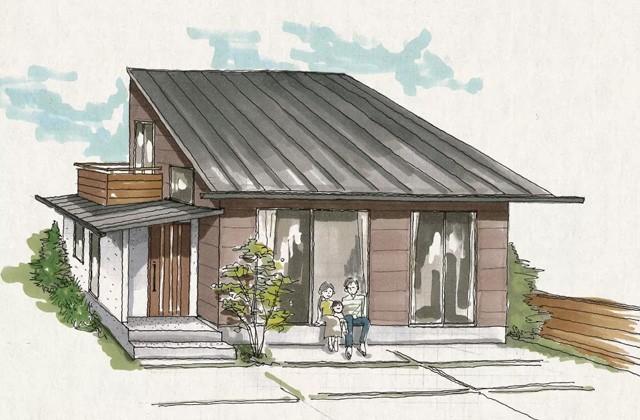 ベルハウジング いちき串木野市にて「大きな吹き抜けの下、家族の笑顔が集う家」の完成見学会