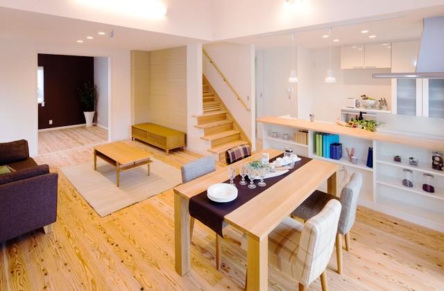 七呂建設 南九州市川辺町にてモデルハウス「家事時間1/2住宅・3LDKの家」の分譲説明会