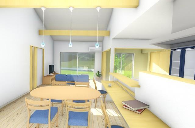七呂建設 鹿屋市串良町にて「25帖の広々LDKで家族が快適に暮らす5LDKの平屋」の完成見学会