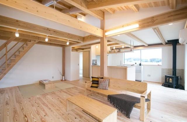ヤマサハウス 鹿児島市武岡にて「鹿児島の木の家 MOOK HOUSEの平屋」の完成見学会