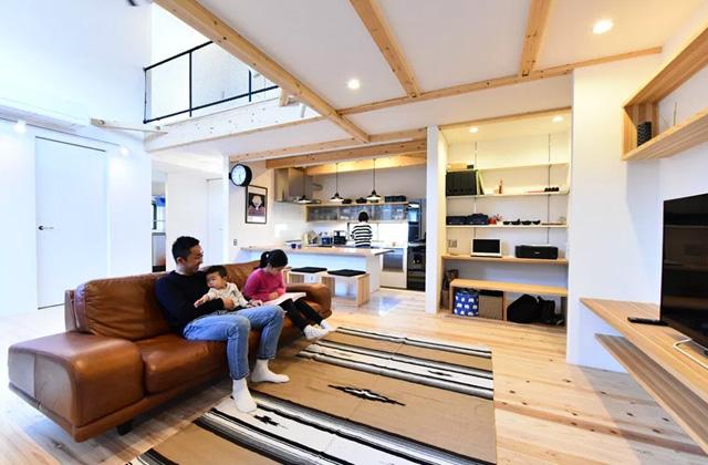 ベルハウジング 鹿児島市吉野にて入居後の注文住宅を見学できるお住まいの見学会