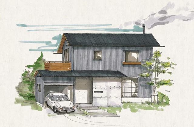 ベルハウジング 鹿児島市吉野にて「温もりが満ちわたる薪ストーブのある家」の完成見学会