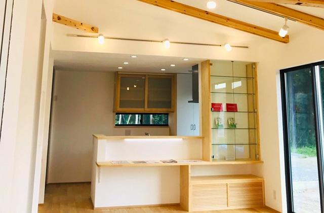 グッドホームかごしま 鹿児島市犬迫町にて「勾配天井で広々空間の漆喰と無垢の家」の完成見学会