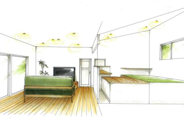 トータルハウジング 姶良市平松にて「LDKにつながるスキップフロアが大空間を演出する平屋」の新築発表会