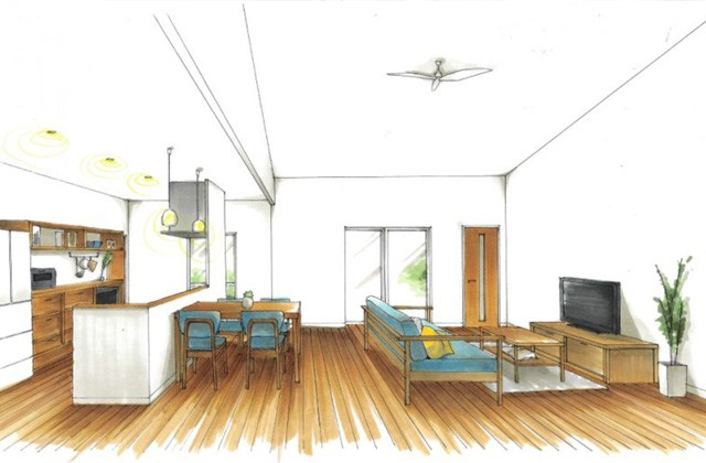 トータルハウジング 日置市伊集院町にて「丁度良い! 小家族向け平屋造りの家」の新築発表会