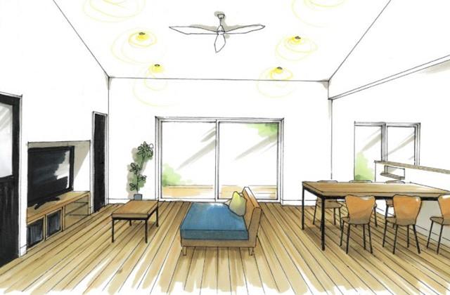 トータルハウジング 出水市高尾野町にて「大家族で暮らす無駄のない平屋の家」の新築発表会
