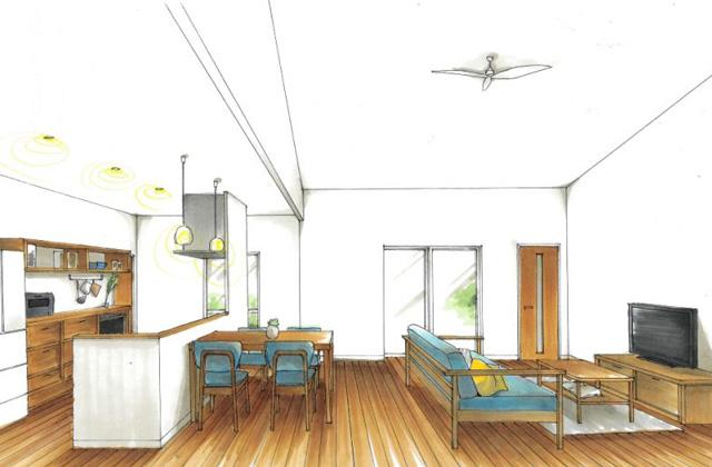 トータルハウジング いちき串木野市大里にて「あたたかみのある生活感を重視した家」の新築発表会