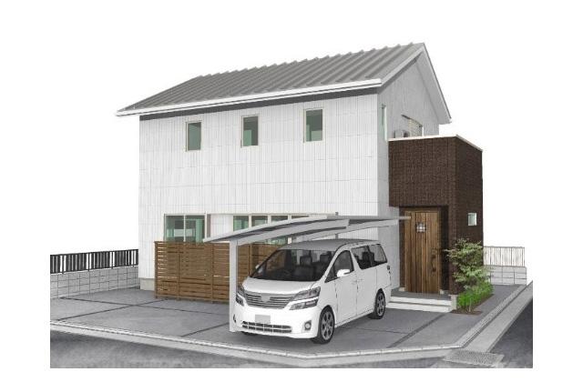 ユニバーサルホーム 鹿児島市下福元町にて「リビングと庭がつながる開放的な家」の完成見学会