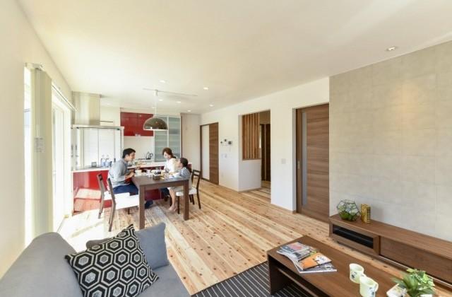 丸和建設 霧島市隼人町にて「自然素材で作られた健康住宅 住吉モデルハウス」の完成見学会