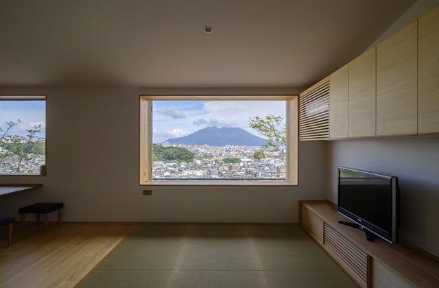 ベガハウス 鹿児島市郡元にて「桜島から霧島に続く景色を切り取る2階リビングの家」の見学会
