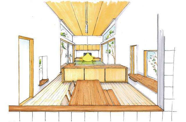 ベガハウス 日置市伊集院町にて「緑と光を取り込む 高窓のある平屋」の完成見学会