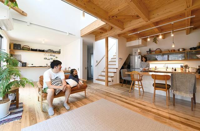 ベルハウジング 鹿児島市宇宿にて「明るい光の差し込む家」の暮らしの見学会