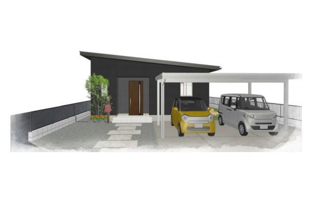 ユニバーサルホーム 霧島市国分府中にて「シンプルで機能性抜群の家」の完成見学会