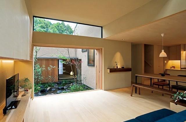 ベガハウス 鹿児島市中山にて「中庭を囲む『コ』の字型の間取りの家」のライフスタイル見学会