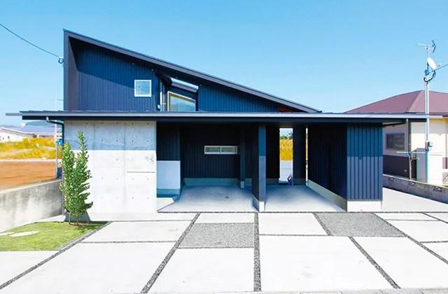 ベルハウジング 指宿市十町にて「オープンキッチンからLDKを見渡せる開放的な家」の完成見学会