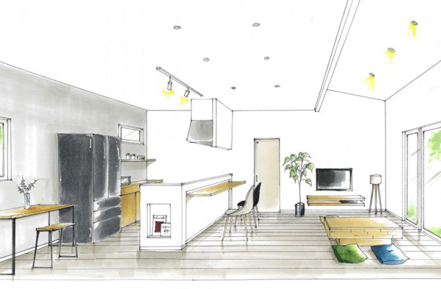 トータルハウジング 姶良市加治木町にて「家事動線を考えた楽カジな平屋の家」の新築発表会