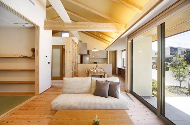 ヤマサハウス 姶良市西餅田にて「勾配天井のある平屋の家」の完成見学会