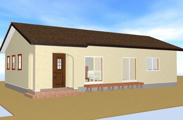 JMC 肝付町にて「こだわりのかわいいが見える平屋」のオープンハウス